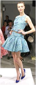 short summer dress spring 2010