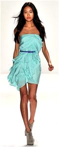 summer dresses for spring 2010, dress color trends spring 2010