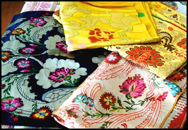 Silk brocade hand woven fabric from kalimpong, Fabric for reupholstering, Hand made brocade , Accent Chairs