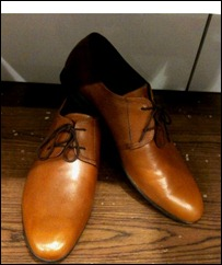 Mens formal shoes in tan, brown shoes for men, work wear shoes