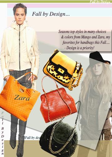 Handbags Trend 2010, Daywear bags, Zara Handbags, mango Handbags