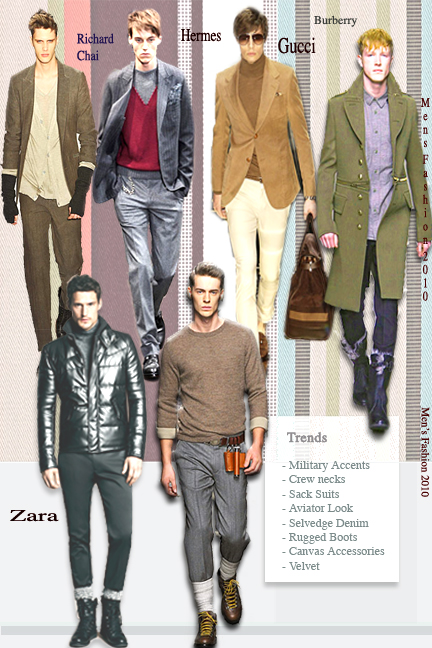Mens fashion Delhi, Mens fashion India, Winter 2010 fashion for men