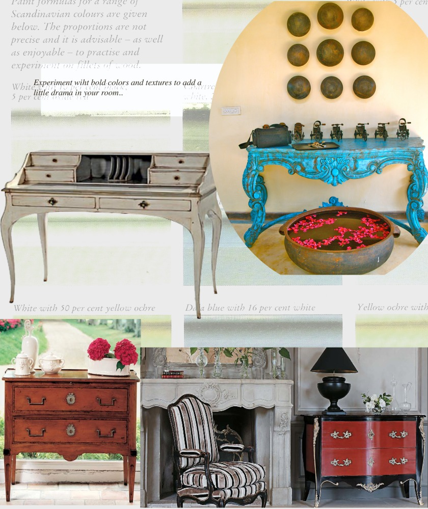 French Furniture, French painted furniture, hand painted furniture