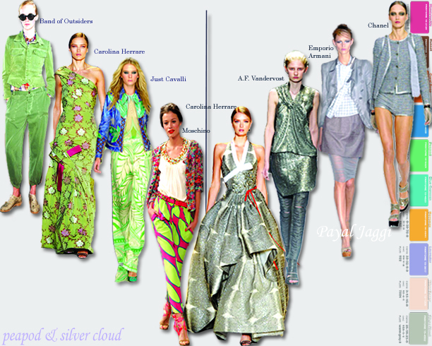 Fashion Color Trends for Spring Summer 2011