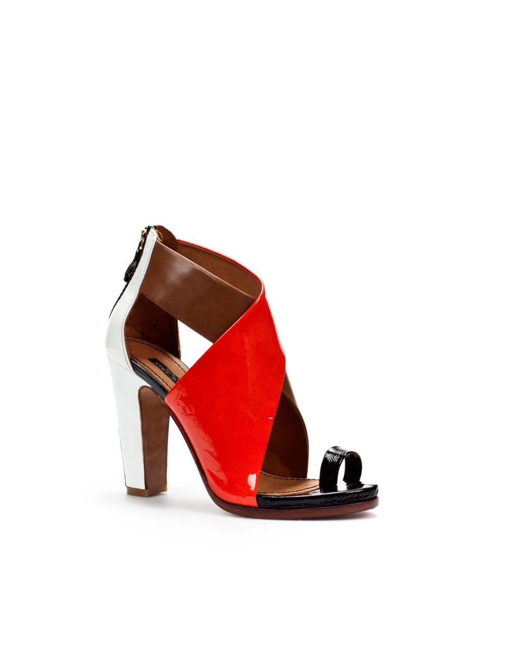 Beautiful red Sandals from Zara