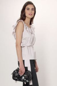 FCUK, evening wear blouse, White