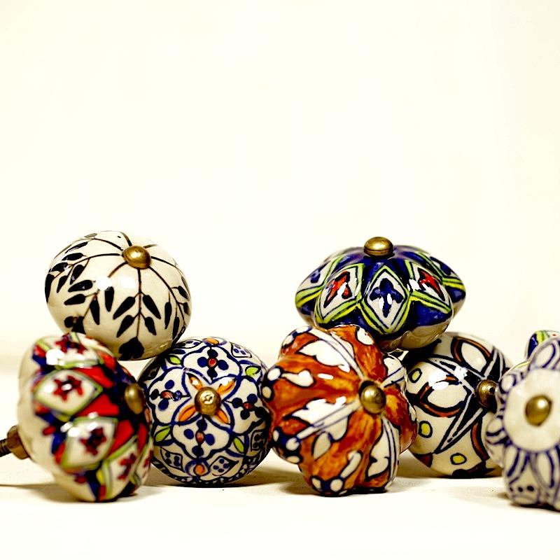 Handmade Ceramic Knobs