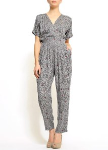 Printed jumpsuit, Mango