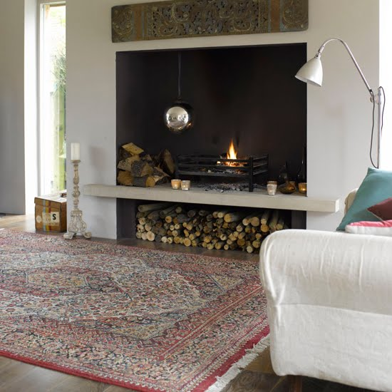 Decorating with subtle color rugs