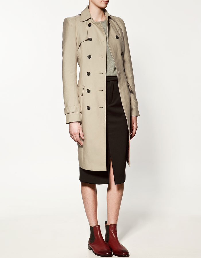 Zara, Trench Jacket Long, how to wear trench jackets
