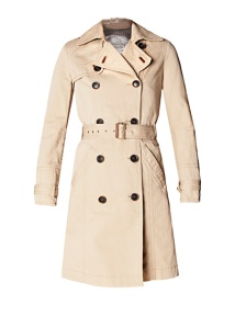 Short Trench Coat Mango