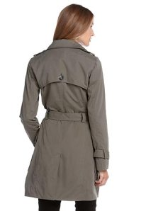Grey Trench Coat from Esprit India