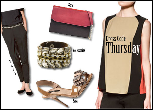 Dress for thursday, weekday dressing for work, India, how to dress up for work