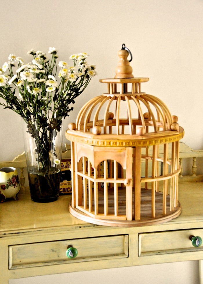 Decorative Teak Cage India, Cage decoration, Decorating with bird cages