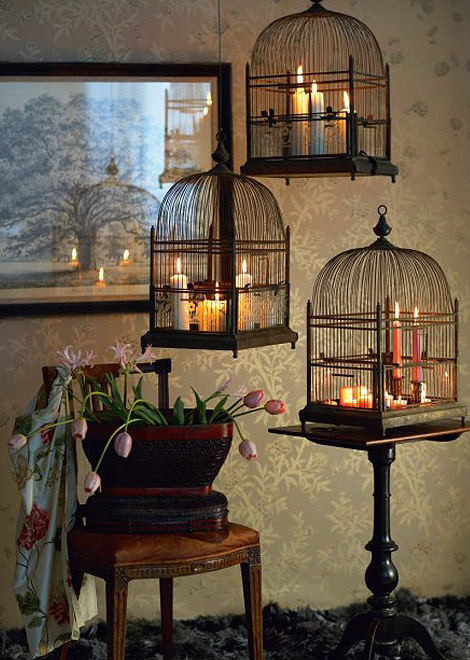 Attirant Decorating With Bird Cages, Handmade Bird Cages India, Cottage Decor Ideas,  Farm House