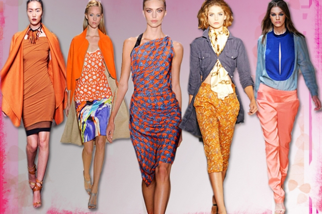Spring Summer 2012 Color Trends, Color Trends India 2012, Shop online India
