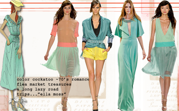Spring summer color trends, Shopping online India