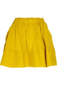 net a porter skirt in yellow