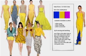 Spring Summer 2012, Color Solar Power, how to wear yellow color, what color matches yellow
