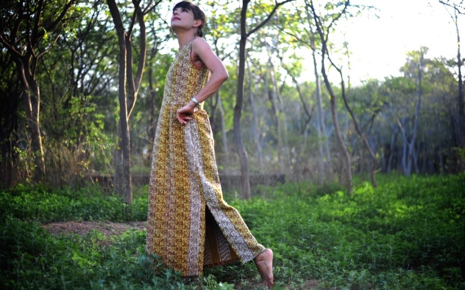 Summer Maxi Dresses Online, Independent Designer Dresses, Cotton Summer Maxi Dress